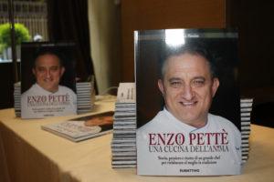 Serata per il libro SUL grande chef Enzo Pettè