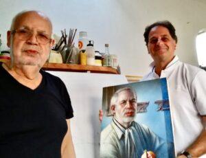 CARMELO FODARO, la pittura TRA SENSUALE BELLEZZA
